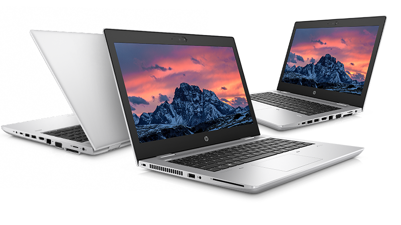 HP ProBook 600 Series different perspectives