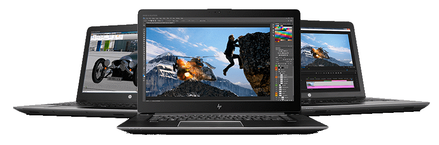 HP ZBook Series different perspectives
