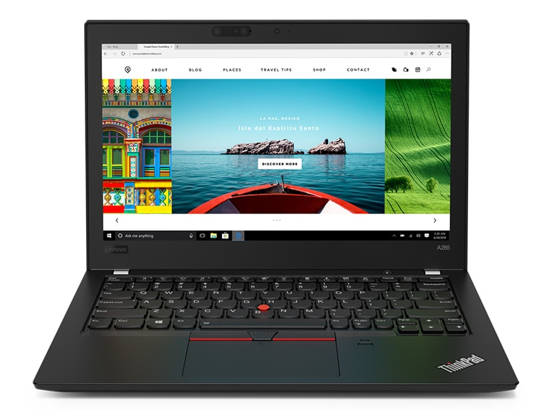 Lenovo ThinkPad A-Serie front view