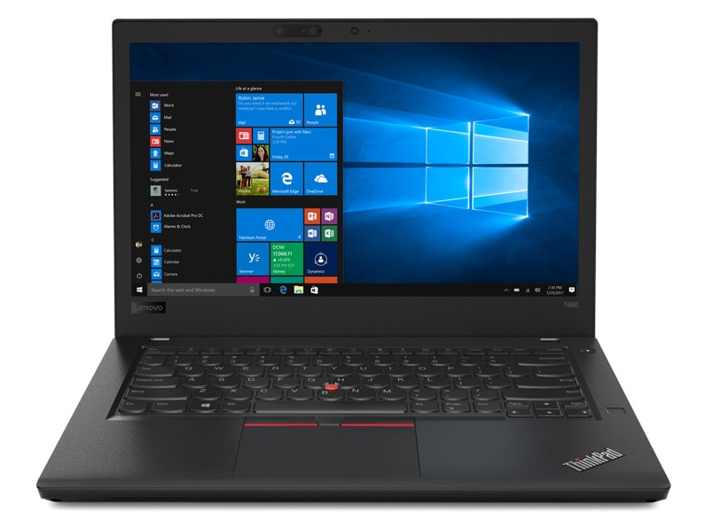 Lenovo ThinkPad T-Serie front view